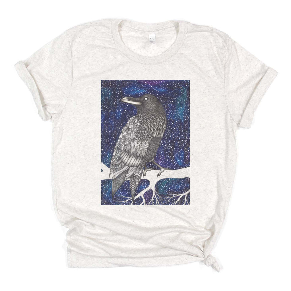 "Savvy Art ""Raven (Colored Version)"" - Shirt (Multiple styles available!)"