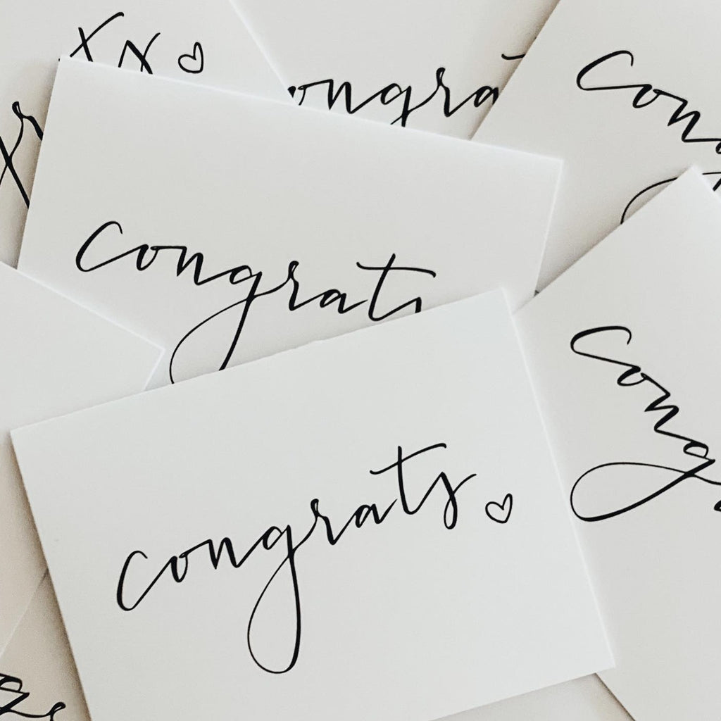 "Wild Caught Co. ""Congrats"" - Greeting Card"