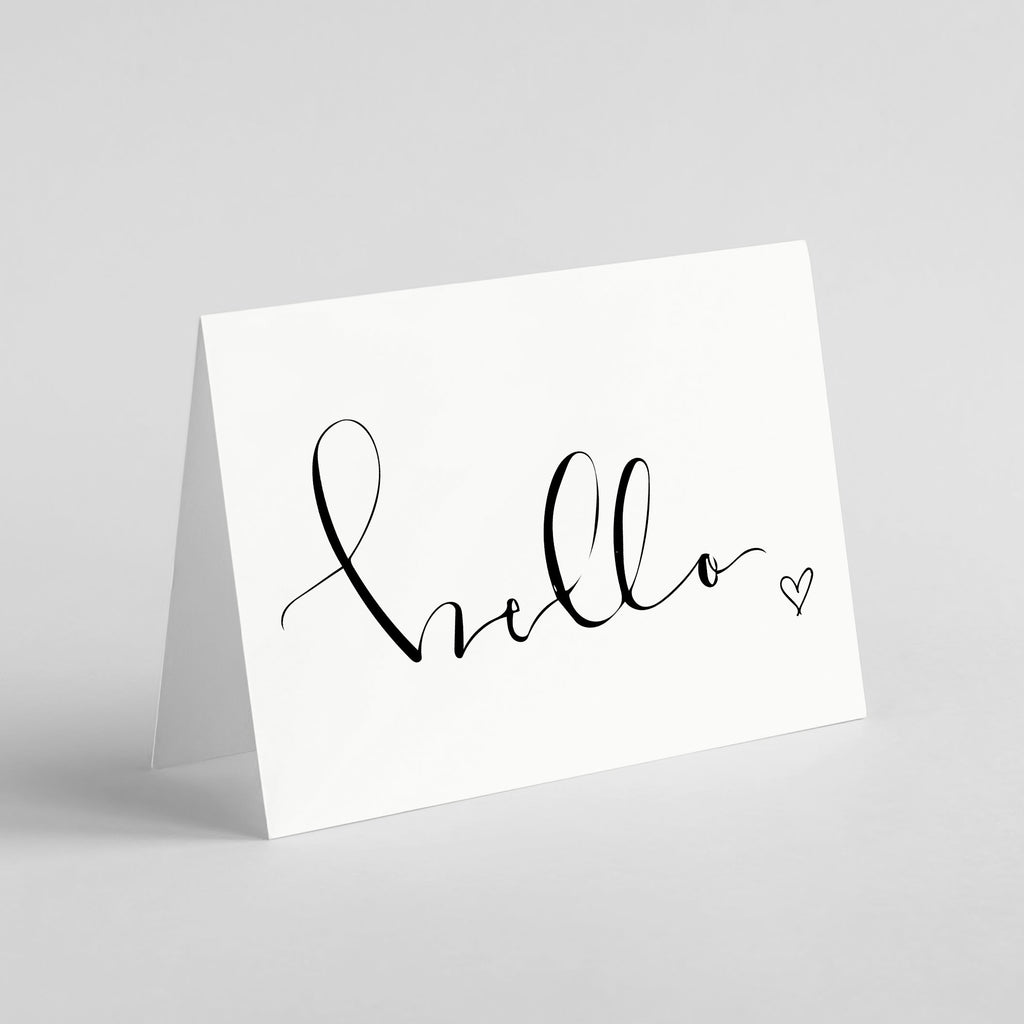 "Wild Caught Co. ""Hello"" - Greeting Card"