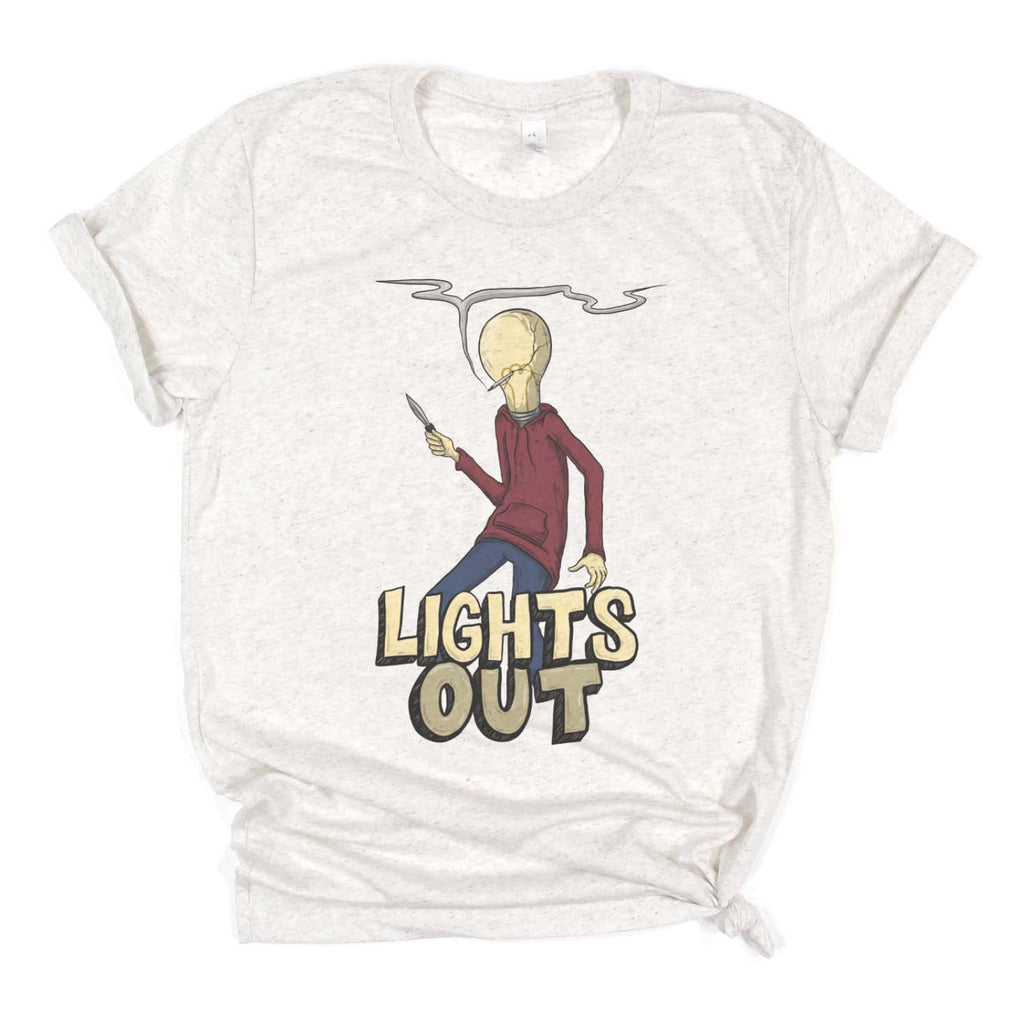 "Zoinkd Art ""Lights Out"" - Bella Canvas Unisex T"