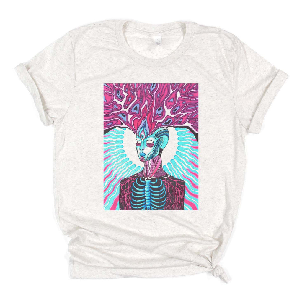 "Savvy Art - ""Mind's Eye"" - Adult/Unisex T-shirt"