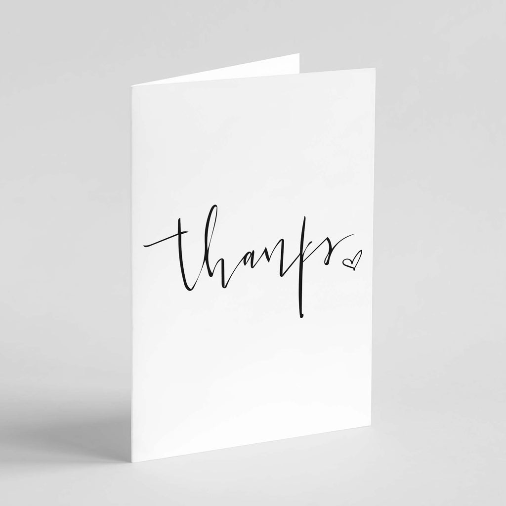 "Wild Caught Co. ""Thanks"" - Greeting Card"
