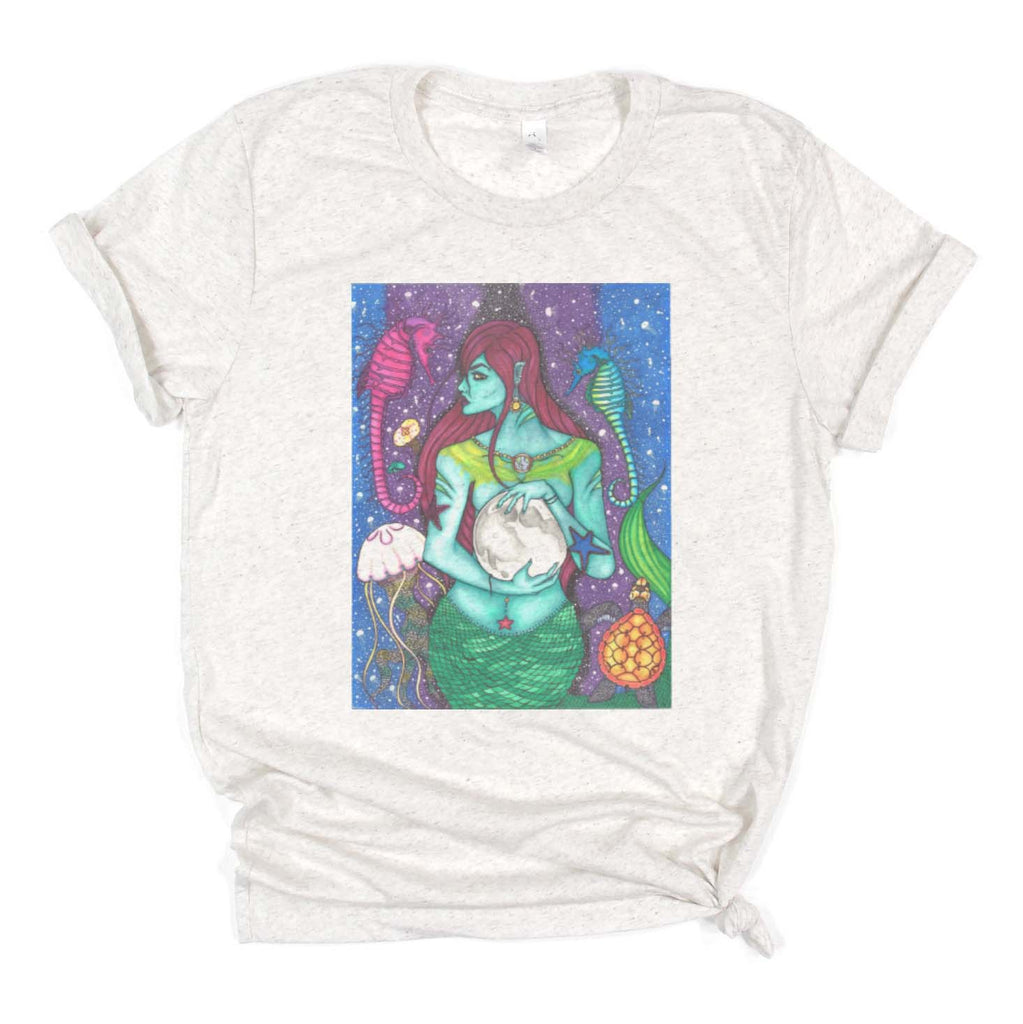 "Savvy Art - ""The Protector, Version 2"" - Adult/Unisex T-shirt"