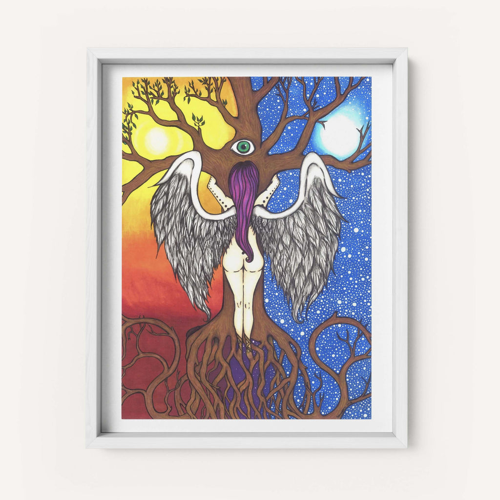 "Savvy Art - ""Tree of Life"" - Fine Art Print"