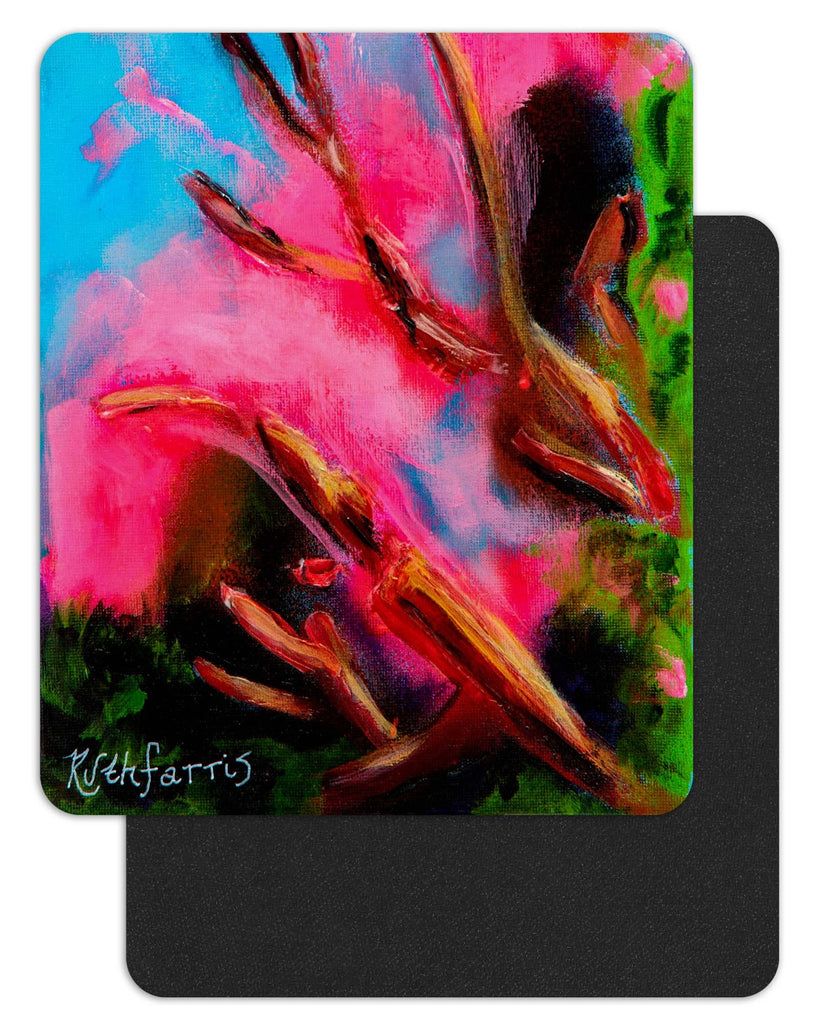 "Ruth Farris Art Mousepad ""AZ Love"" - 7.75"" x 9.25"" Black-Backed"