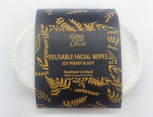 Load image into Gallery viewer, Reusable Face Wipes - Emerald Earth