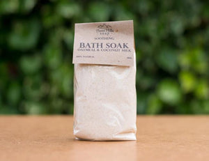 Oatmeal & Coconut Milk Bath Soak - Emerald Earth