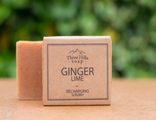 Ginger & Lime Body Bar - Emerald Earth