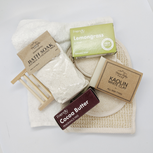 Plastic Free Pamper Pack - Emerald Earth