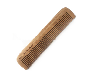 Bamboo Pocket Comb - Emerald Earth