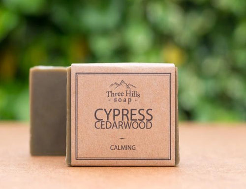 Cypress Cedarwood Body Bar - Emerald Earth