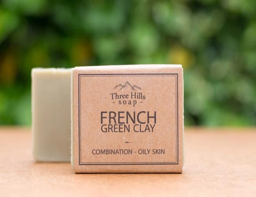 French Green Clay Facial Bar - Emerald Earth