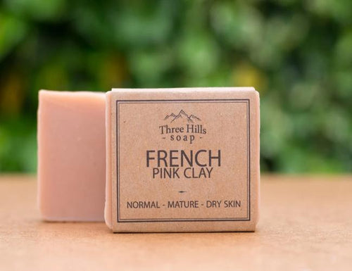 French Pink Clay Facial Bar - Emerald Earth