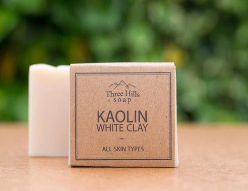 Kaolin White Clay Facial Bar - Emerald Earth