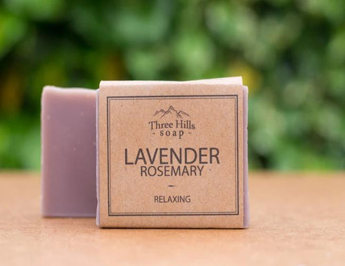 Lavender Rosemary Face & Body Bar - Emerald Earth