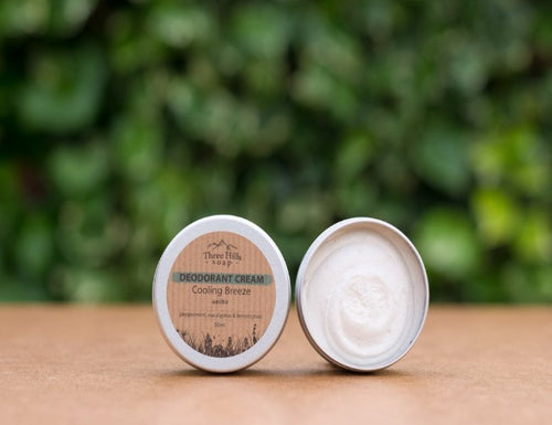 Deodorant Cream - Cooling Breeze - Emerald Earth