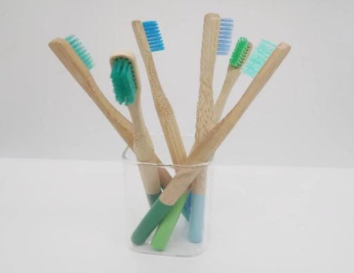 The Emerald Earth Bamboo Toothbrush - Emerald Earth