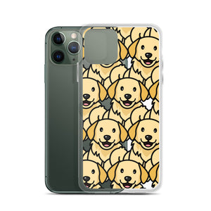 Rexeey - Transparent Golden Retriever iPhone Case