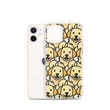 Load image into Gallery viewer, Rexeey - Transparent Golden Retriever iPhone Case