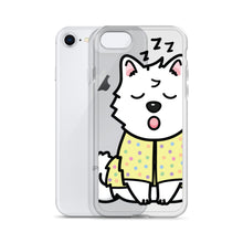 Load image into Gallery viewer, Rexeey - Transparent Sleepy Rex iPhone Case
