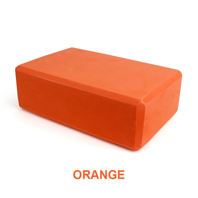 Exercise Yoga Block - Orange