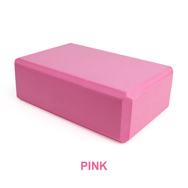 Exercise Yoga Block - Pink