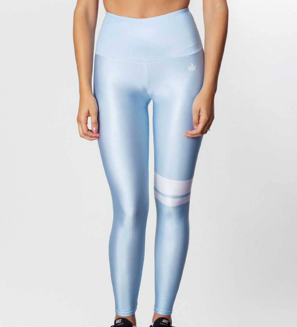 ESSENTIAL BLUE LEGGINGS