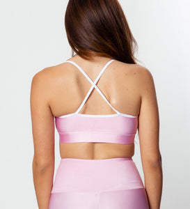 ESSENTIAL PINK SPORTS TOP