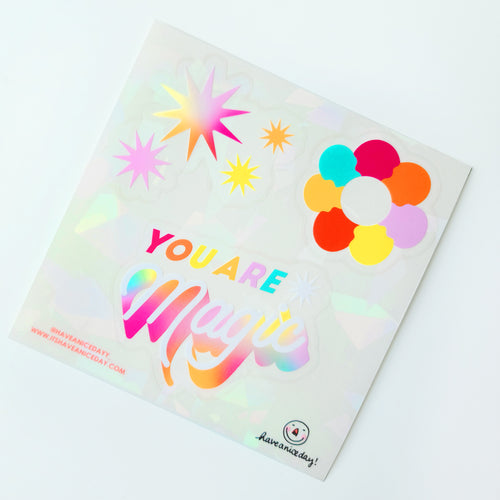 You are Magic Suncatcher Sheet (3 Stickers)