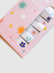All Smiles Nail Wraps Set- 16