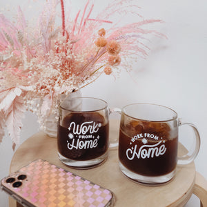 Work From Home Mugs- SET OF 2