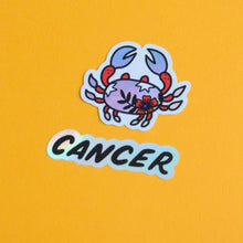 Load image into Gallery viewer, Horoscope Sticker: Cancer