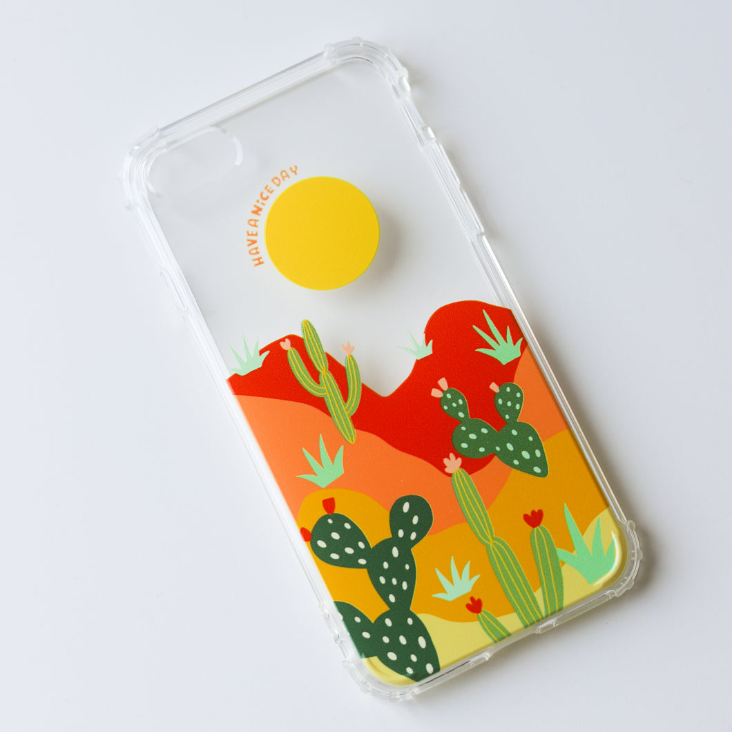 Desert Sun Phone Case