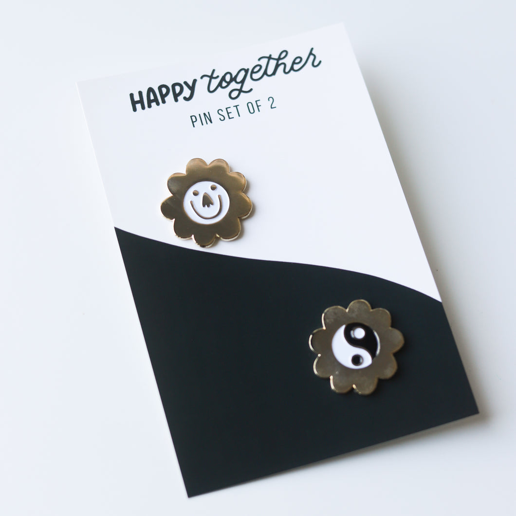 Happy Together Pin