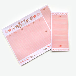 Daisy To-Do NotePad (3.5in x 8in)