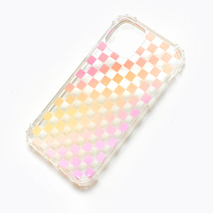 Gradient Checkered Phone Case