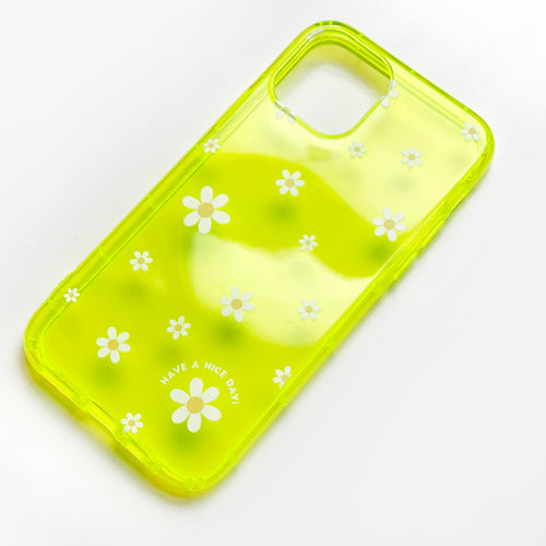 Claire Neon Yellow Phone Case
