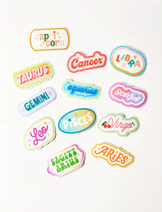 Cancer Clear Die Cut Sticker