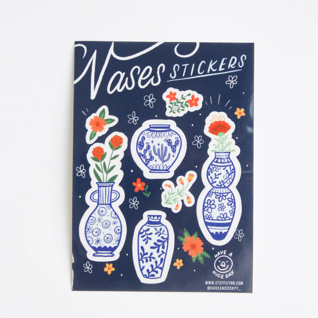Vases Sticker Sheet