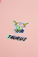 Load image into Gallery viewer, Horoscope Sticker: Taurus