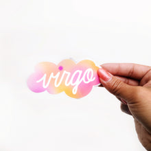 Load image into Gallery viewer, Gradient Virgo Clear Die Cut Sticker