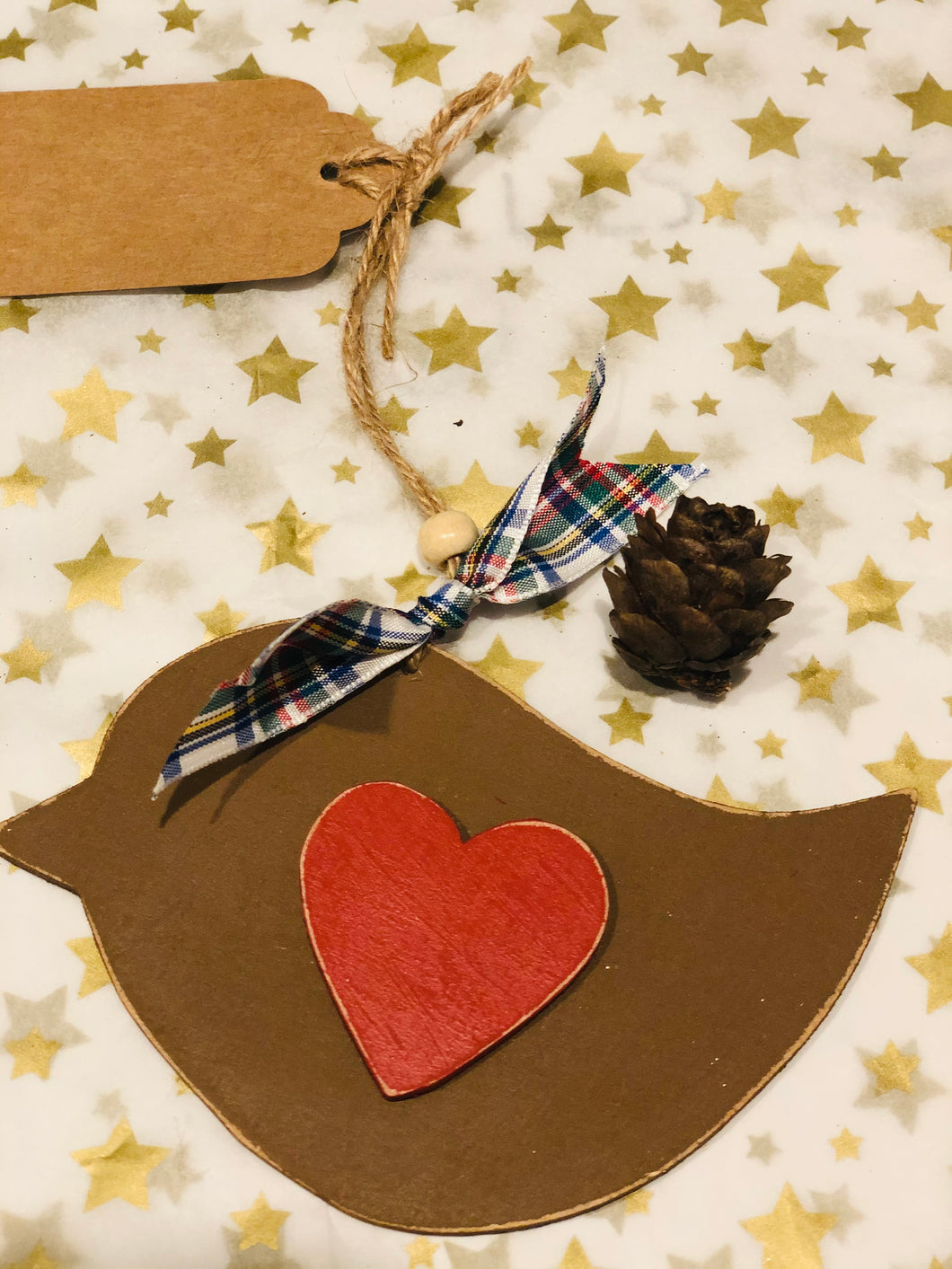 Wooden Christmas decorations £4-£5