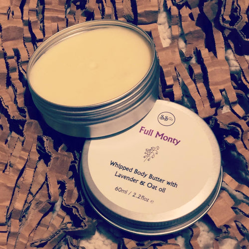 Lavender and oat oil body butter £6