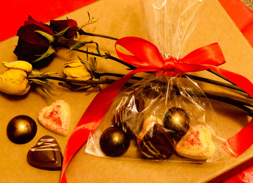 Handcrafted Chocolates £4.50