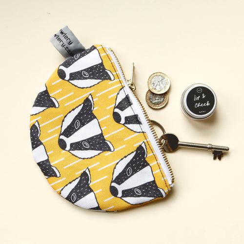 Badger Purse/Make-up Bag £12.50