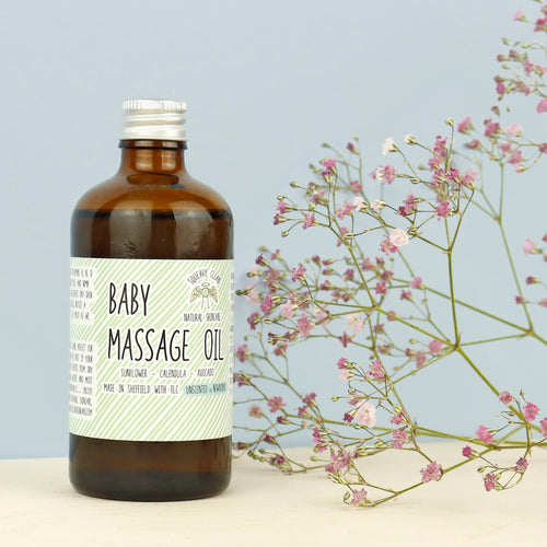 Baby massage oil £10