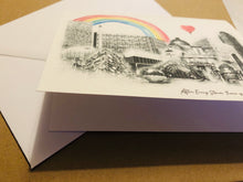 Load image into Gallery viewer, Sheffield Landmark Card, Rainbow of Hope £2.50