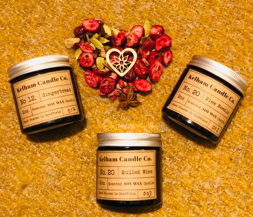 Winter Scented Soy Wax Candles £7