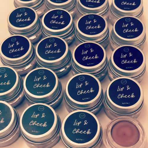 Mineral lip and cheek butter £10