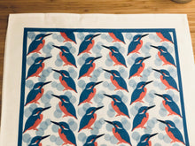 Load image into Gallery viewer, Kingfisher Tea Towel £12